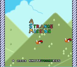 A Strange Mission